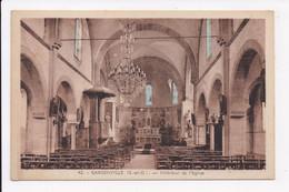CP 78 GARGENVILLE Interieur De L'église - Gargenville
