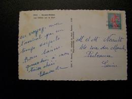 France - Oblitération De Fortune - Annulation Linéaire De PUTEAUX (92) - Sur Semeuse Fond Plein - Sur CPSM - Unclassified