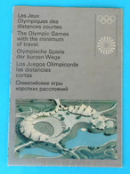 OLYMPIC GAMES MUNICH 1972. Official Publication * Jeux Olympiques Olympia Olympiade Olympische Spiele * MUNCHEN '72 - Olympische Spiele