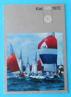 OLYMPIC GAMES MUNICH 1972. ( Kiel - Sailing ) Old Publication * Jeux Olympiques Olympia Olympiade Olimpici MUNCHEN '72 - Olympische Spiele