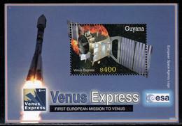 Guyana 2006 Mi# Block 805 ** MNH - Venus Express / Space - Raumfahrt