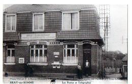 BRAY-sur-SOMME - Les Postes Et Télégraphes - Bray Sur Somme
