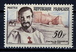 France - Frankreich 1959 Y&T N°1191 - Michel N°1230 * - 50f C De Foulcauld - Unused Stamps
