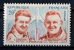 France - Frankreich 1959 Y&T N°1213 - Michel N°1257 * - 20f Goujon Et Rozanoff - Unused Stamps