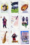 BARAJA ESPAÑOLA, PLAYING CARDS DECK, JORNADAS DE LA MATANZA DEL VIRREY. BURGO DE OSMA - Cartes à Jouer Classiques