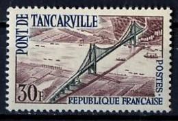France - Frankreich 1959 Y&T N°1215 - Michel N°1260 * - 30f Pont De Tancarville - Unused Stamps
