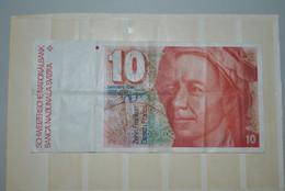Suisse 1979 Billet 10 Francs - Switzerland
