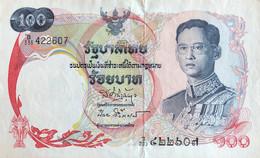 Thailand 100 Bath, P-79 (1968) - XF- - Signature 41 - Thailand