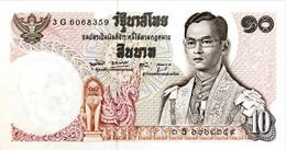 Thailand 10 Bath, P-83 (1969) - UNC - Signature 49 - Thailand