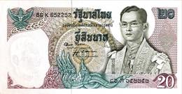 Thailand 20 Bath, P-84 (1971) - UNC - Signature 52 - Thailand