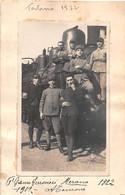 "1457""GENIO FERROVIERI-MERANO 1922-TERLANO""FOTO ORIGINALE - War, Military"