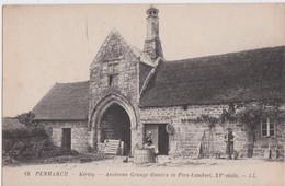 Bv - Cpa PENMARCH - Kerity - Ancienne Grange Dimière De Pors Lambert - Penmarch