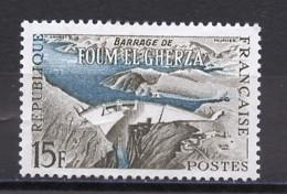 France - Frankreich 1959 Y&T N°1203 - Michel N°1247 * - 15f Barrge De Foum El Guerza - Unused Stamps