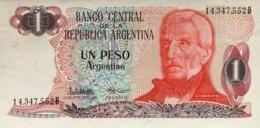Argentina 1 Peso Argentino, P-311 (1983) - UNC - Argentina