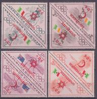 1958Dominican Republic623-24,627-30,635-361956 Olympic Games In Melbourne - Verano 1956: Melbourne