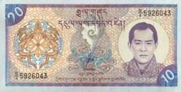 Bhutan 10 Ngultrum, P-22 (2000) - UNC - Bhutan