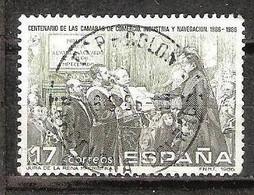 C.CAMARA COMERCIO - AÑO 1986 - Nº EDIFIL 2845 - 1981-90 Usados