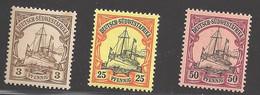 Deutsche Kolonien Deutsch-Südwestafrika Lot Aus Michel Nummer 11/18 Ungebraucht Falz - Colony: German South West Africa