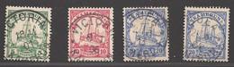 Deutsche Kolonien Kamerun Lot Aus Michel Nummer 7/10 Gestempelt - Colonie: Cameroun
