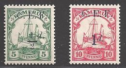Deutsche Kolonien Kamerun  Britische Besetzung Michel Nummer 2+3 Postfrisch - Colonie: Cameroun