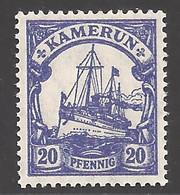 Deutsche Kolonien Kamerun  Michel Nummer 23 Postfrisch - Colonie: Cameroun