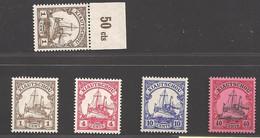 Deutsche Kolonien Kiautschou Lot Aus Michel Nummer 28/33 Postfrisch - Colonie: Kiautchou