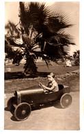 ENFANT Avec JOUET : VOITURE à PÉDALES / CHILD With TOY : PEDAL CAR - VRAIE PHOTO / REAL PHOTO - EGYPT - 1932 (af469) - Unclassified