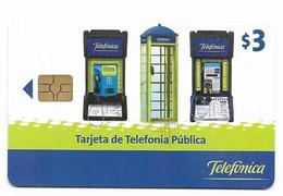 Ecuador, Telefonica Used Chip Phonecard, No Value, Collectors Item, # Ecuador-1 - Ecuador