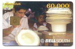 Ecuador, BellSouth Used Chip Phonecard, No Value, Collectors Item, # Ecuador-4 - Ecuador