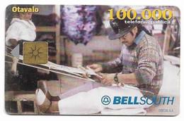 Ecuador, BellSouth Used Chip Phonecard, No Value, Collectors Item, # Ecuador-5 - Ecuador