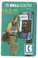 Ecuador, BellSouth Used Chip Phonecard, No Value, Collectors Item, # Ecuador-10 - Ecuador