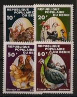 Bénin - 1978 - N°Yv. 429 à 430 - Faune / Volailles - Neuf Luxe ** / MNH / Postfrisch - Farm