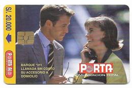 Ecuador, Porta Used Chip Phonecard, No Value, Collectors Item, # Ecuador-15 - Ecuador