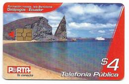 Ecuador, Porta Used Chip Phonecard, No Value, Collectors Item, # Ecuador-17 - Ecuador