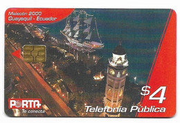 Ecuador, Porta Used Chip Phonecard, No Value, Collectors Item, # Ecuador-18 - Ecuador