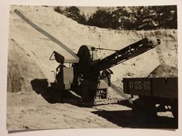Photo Vintage. Original. Excavatrice. Développement De Carrière. L'URSS - Mestieri