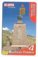 Ecuador, Porta Used Chip Phonecard, No Value, Collectors Item, # Ecuador-19 - Ecuador