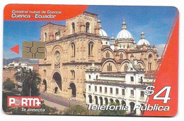 Ecuador, Porta Used Chip Phonecard, No Value, Collectors Item, # Ecuador-20 - Ecuador