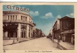 ALGERIE - CASTIGLIONE - Rue Nationale - - Otras Ciudades
