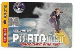 Ecuador, Porta Used Chip Phonecard, No Value, Collectors Item, # Ecuador-22 - Ecuador