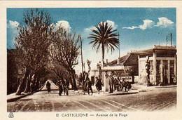 ALGERIE - CASTIGLIONE - Avenue De La Plage - - Otras Ciudades