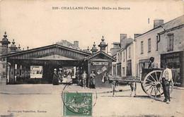 Challans       85        Halle Au Beurre      (voir Scan) - Challans