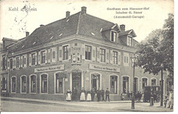 Kehl / Gasthaus Zum Hanauer-Hof - Kehl