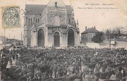 Challans       85     Marché Aux Chevaux        (voir Scan) - Challans