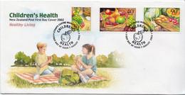 New Zealand Set On FDC - Health