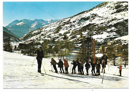 05 - AIGUILLES EN QUEYRAS (Hautes-Alpes) - Les Remontées Mécaniques - Ed. J. CELLARD N° X. 95507 - Andere Gemeenten