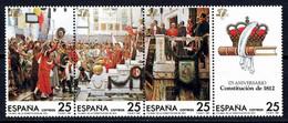 España. Spain. 1987. 175 Aniversario Constitucion De 1812 - 1931-Aujourd'hui: II. République - ....Juan Carlos I