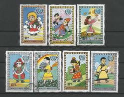 Mongolia 1977 UNICEF Y.T. 910/916 (0) - Mongolia