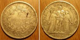 Hercule - 5 Francs 1848K - J. 5 Francs