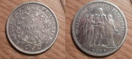 Hercule - 5 Francs 1873K - J. 5 Francs